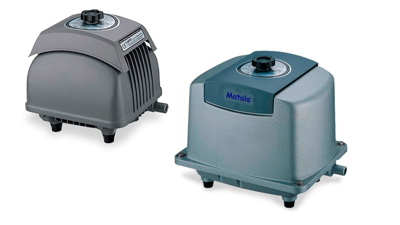 Pumps Matala for Aeration Ponds